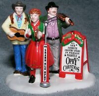 Dept 56 Christmas Snow Village Musician Figurines Grand Ole Opry Carolers In Box