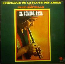 LP FACIO SANTILLÁN - el condor pasa, sortilege de la flûte des andes vol. 2