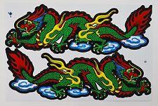 A4 Sheet Dragon Stickers/Decals Skateboard/Bikes/Quads/Scooters/BMX/Locker/Art