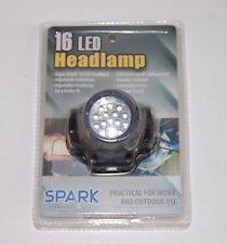 Spark 16 LED Headlamp Flashlight for Work and Outdoor Use