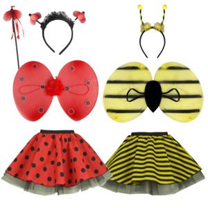 Adult BEE LADYBIRD Costume TUTU SKIRT Fancy Dress Dance Lady Bug