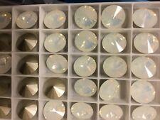 Swarovski Crystallized Element White Opal 1122 Rivoli 12mm Round