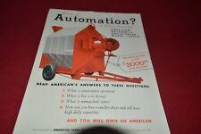 American Farm Equipment Grain Dryer Dealer's Brochure Mfpa
