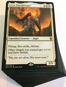 ***Custom Commander Deck*** Lyra Dawnbringer - Angels Tribal - EDH Magic Cards