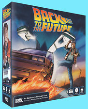 BACK TO THE FUTURE BOARD Game FREE Pizza Hydrator Card & DELOREAN HOT WHEELS