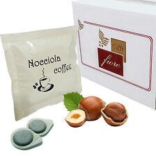 50 Cialde ESE 44 mm. CAFFE FIORE  Aromatizzate Nocciola -- Qualità Superiore --
