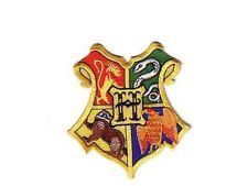 Harry Potter ecusson brodé logo des 4 ecoles Blason hogwarts school patch