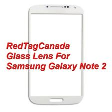 Front Outer Screen Glass Lens Replace For Samsung Galaxy Note 2 N7100 WHITE - CA
