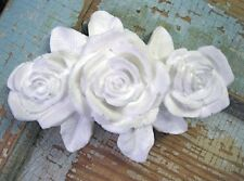 Shabby & Chic Roses FURNITURE ONLAYS / WOOD & RESIN