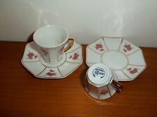 lot de 2 tasses de collection en porcelaine, décoration d'artiste  03   *T3