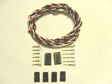 22awg Twisted Servo wire 1M W/ JR connectors Quadcopter Plane Helicopter