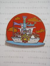Disney Splash Mountain ZIP-A-DEE-LADY SHOWBOAT BOAT Reveal Conceal Mystery Pin