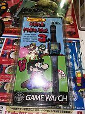 Blister Neuf Nintendo 1991 Montre Zeon Game Watch Super Mario Bros 3 État C10