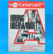 DDR Illustrierter Motorsport IMS 22/1969 Frankfurt/Oder Iso Rivolta Wismut G