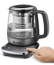 BREVILLE TEA MAKER COMPACT BTM700SHY ELECTRIC KETTLE New Digital Variable Heat.