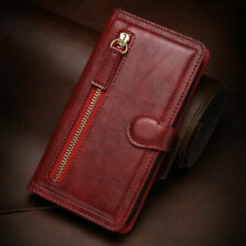 New listing Magnetic Flip Leather Zipper Wallet Case Cover for Iphone 13 12 11 Pro Max 8 7 X