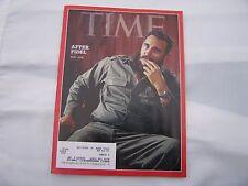 Fidel Castro Time Magazine Cover 12-12-16