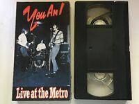 YOU AM I - LIVE AT THE METRO. Australian Promo Video Cassette