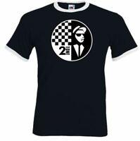 The Specials T-Shirt Mens 2Tone Rude Boy Two Tone 2 Tone Ska Music Records Top