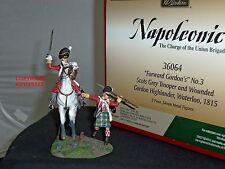 BRITAINS 36064 FORWARD GORDONS SCOTS GREY TROOPER MOUNTED + GORDON HIGHLANDER