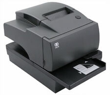 7167-6011 NCR Thermal Receipt/Slip Printer, RS232/USB, Charcoal