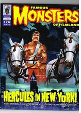 FAMOUS MONSTERS OF FILMLAND #70 NM HORROR MOVIE MAG RETRO ISSUE (1970/2011) RM1