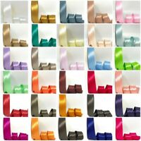 Satin Bias Binding - 30mm Wide In 79 Colours Free UK Postage & Volume Savings