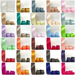 Satin Bias Binding - 30mm Wide In 79 Colours Free UK Postage & Volume Savings