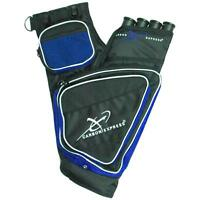 Carbon Express Target Quiver Blue/Black Right Hand