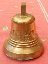 cloche de mouillage chalutier N D de la Meije 1962