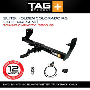 TAG Towbar Fits Holden Colorado 2012-Current Towing Capacity 3500Kg 4x4 Exterior