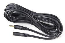 Rox MJ-1 Stéréo 3.5 Mm Mini Jack Plug to Socket 5 m Extension Lead