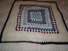 Crochet baby/Doll Coperta Carrozzina Passeggino Car Seat Cover Nuovissimo Lana FREEPOST!