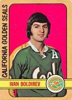 1972-73 O-Pee-Chee #41 Ivan Boldirev RC Rookie California Golden Seals