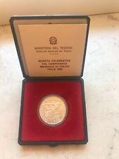 500 Lire Argento Italia Mondiali Calcio 1990 Conf Zecca Fdc Coppa del Mondo Fifa