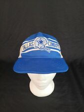 1970/1980's Vintage Dallas Cowboys USA Made Mesh Back Snapback Baseball Cap Hat