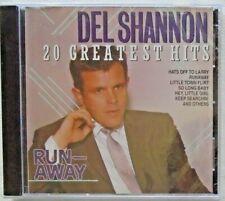 DEL SHANNON - CD - Runaway/20 Greatest Hits - BRAND NEW