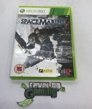 Warhammer 40,000 Space Marine Xbox 360 UK PAL **FREE UK POSTAGE** (NO MANUAL)