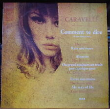 CARAVELLI COMMENT TE DIRE CHEESECAKE COVER  FRENCH LP