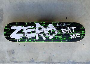 Zero 'Eat Me' Sample Deck Signed By Jamie Thomas