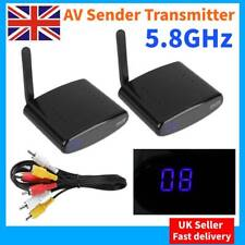 24 Channel 5.8ghz Wireless Audio Video Signal AV Sender Transmitter & Receiver