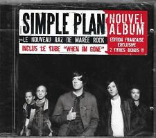 CD SIMPLE PLAN WHEN I'M GONE 13T EDITION FRANCAISE 2T BONUS NEUF SCELLE FRENCH