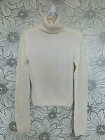 ~RARE~Authentic~ITALY VINTAGE DOLCE & GABBANA D&G Angora Crochet Knit SWEATER XS