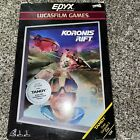 Koronis Rift Video Game For Tandy Color Computer 3 128k From Lucasfilm Games