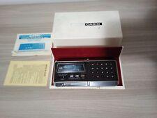Casio Cq-1 Computer Quartz calcolatrice sveglia anni 70' con scatola