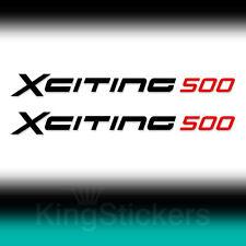 2 ADESIVI Kymco XCITING 500 sticker decal moto stickers