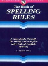 The Wordsworth Book of Spelling Rules (Wordsworth Reference),G.Terry Page
