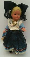 ORIGINAL SCHMIDER TRACHTEN Celluloid GERMAN Vintage Doll ALL ORIGINAL WITH TAG !