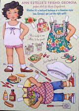 Mary Engelbreit Paper Doll, Georgia, June/July 2003, Uncut Home Companion Mag.