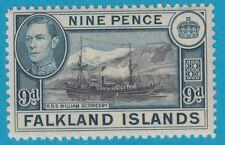 FALKLAND ISLANDS 90* MINT HINGED OG EXTRA FINE !